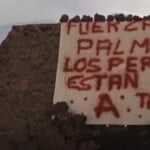 """Mysterious """"A Team"""" rescue La Palma dogs on foot and leave a note"""